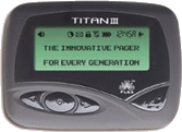 Titan III Pager