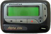 Unication Alpha Elite Pager